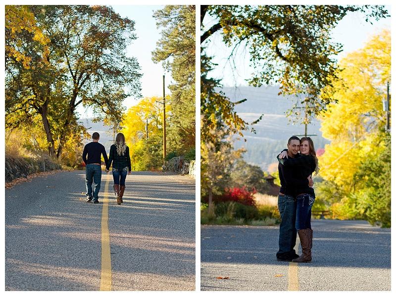 Fall engagement shoot